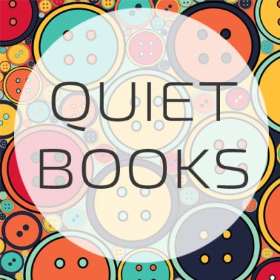 quiet book header